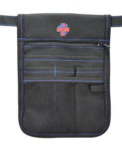 Nursing Pouch with blue stitching