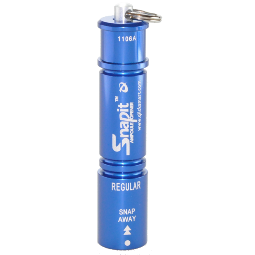 Qlicksmart Snapit SN-01R Regular Blue Pocket Size