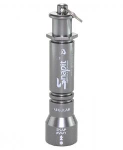 Qlicksmart Snapit Lite Reusable Plastic SN-02R Regular Grey Pocket Size