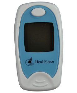 Prince 100A I Fingertip Pulse Oximeter Ice Blue Heal Force