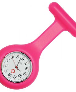 Hot Pink Silicon Nurse Fob Watch
