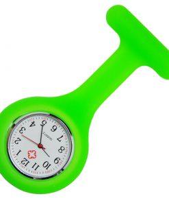 Neon Green Silicone Nurse Fob Watch