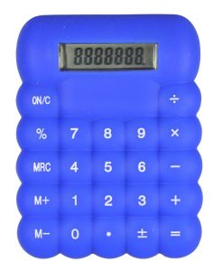 Silicone Calculator Blue