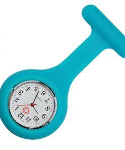 Teal Silicone Nurse Fob Watch